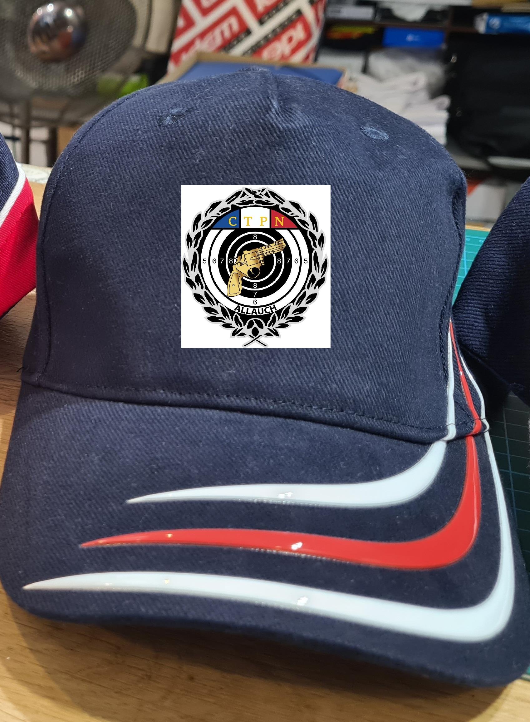 Nouvelle casquette bleue